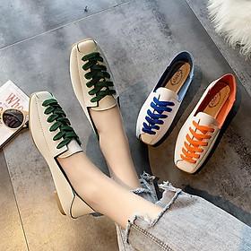 Biểu đồ lịch sử biến động giá bán Giày Nữ Da Buộc Dây Thời Trang Hàn Quốc MBS601 - Mery Shoes