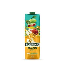 Florina Apple Juice - Nước Trái Cây Florina Táo Ép 100% 1L