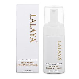 Combo: Serum dưỡng trắng da ngừa nám LALAYA tặng kem bộ 3 mini kem dưỡng da ngày, đêm và body cao cấp LALAYA, 1 sữa rửa mặt tạo bọt(100ml), 1 chai gel rửa tay khô(150ml) và 1 xịt khử khuẩn rửa tay đa năng NANO BẠC X5 LALAYA(110ml)-3