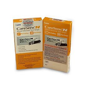 Que thử đường huyết CareSens N (vỉ 50 que) - thương hiệu Hàn Quốc