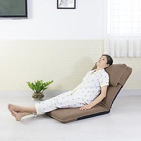Ghế nằm ngủ tựa lưng đặt trên giường cho bà bầu, người già, ghế chăm sóc bệnh nhân nâng hạ trợ lực bằng cơ C360
