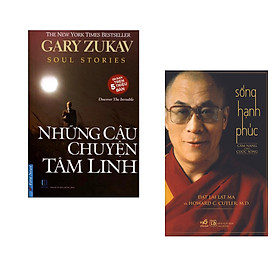 Combo 2 cuốn sách:  Những Câu Chuyện Tâm Linh + Sống hạnh phúc (Tái Bản)