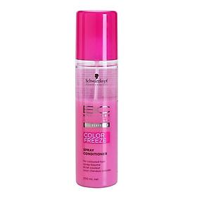 Xịt dưỡng giữ màu tóc nhuộm Schwarzkopf BC Bonacure pH 4.5 Color Freeze Spray Conditioner 200ml