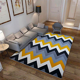 Anti-Slip Soft Geometric Pattern Carpet Large Size Home Area Rugs for Living Room Kids Bedroom Floor Supplies