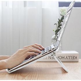 Giá Đỡ, Kệ Nâng Đỡ Tản Nhiệt Cho Máy Tính, Macbook, Laptop, Ipad 24.5cm-Giao Màu nGẫu Nhiên