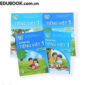 Combo sách Tiếng Việt lớp 1 (Kết nối tri thức với cuộc sống)