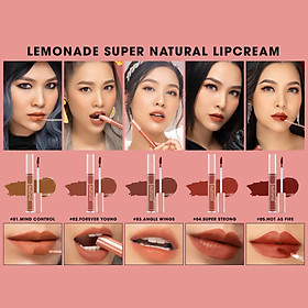 Son Kem Lì Lemonade Super Natural Matte Lipcream 5g