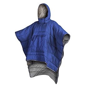 Water-resistant Sleeping Bag Cloak Poncho Portable Outdoor Camping Backpacking Hiking Travel Sleeping Blanket Quilt Coat
