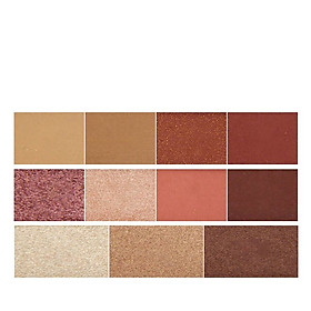 Glitter Matte Shimmer Powder Suit Pigment Eye Makeup Shadow 11 Colors Eyeshadow Palette