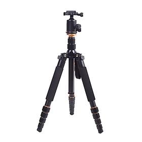 Chân Đế Tripod Có Thể Tùy Chỉnh Gấp/Mở Rộng Andoer Cho Máy Ảnh DSLR Canon/Nikon/Sony - Đen