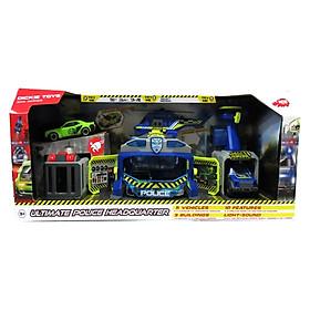 Đồ Chơi Trẻ Em Trạm Cảnh Sát Cứu Hộ Bộ Lớn Dickie Toys 203719011-038