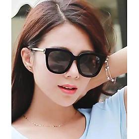 Kính mát nữ V thời trang tặng kèm đồng hồ nữ thời trang full hộp VĐ 5565