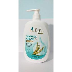 Sữa tắm Milaki Natural Rice Milk hương sữa gạo