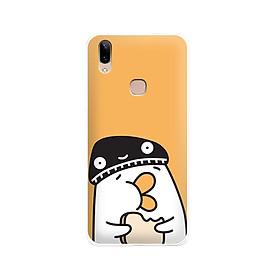 Ốp lưng dẻo cho điện thoại Vivo V9 - Y85 - 01113 7901 DUCK04 - Hàng Chính Hãng