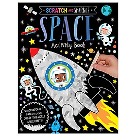Scratch And Sparkle Space Activity Book