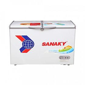 Tủ Đông Dàn Đồng Sanaky VH-3699A1 1 Ngăn 2 Cánh - Hàng Chính Hãng