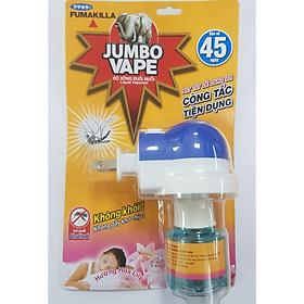 Bộ Tinh Chất Xông Đuổi Muỗi Và Côn Trùng Jumbo Vape - Bao Bì Mới