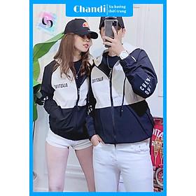 Áo Khoác Dù Nam Nữ Unisex , thời trang thu đông thương hiệu Chandi chất liệu thấm hút mồ hôi dày dặn mặc thoáng mát 2021  MA220