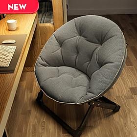 Ghế xếp lười nội thất kiểu hàn có thể gấp gọn tiện dụng ( Mầu ngẫu nhiên ) -Hàng chính hãng
