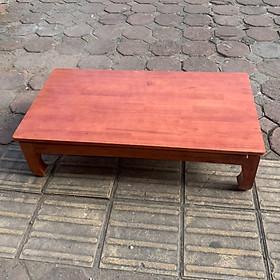 bàn osin gỗ cao su 100cm