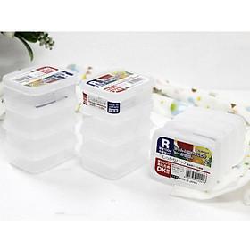 Bộ 4 hộp nhựa nhí 100ml - Hàng Nội Địa Nhật