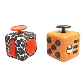 Combo 2 Khối Vuông Fidget Cube - Quà Tặng Kì Diệu Giảm Stress Tăng Khả Năng Tập Trung (Giao Mẫu Ngẫu Nhiên )