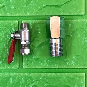 Bộ khẩu + khóa cấp nước đầu vào máy lọc nước RO - Hàng chính hãng Kangaroo