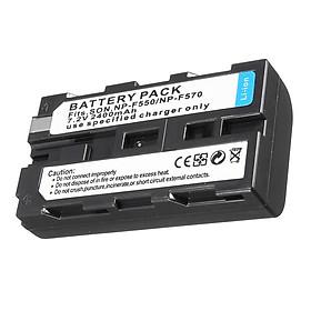 Pin NP-F550,NP-570 7.2V 2400mAh cho Máy Quay Phim Sony Cao Cấp AZONE