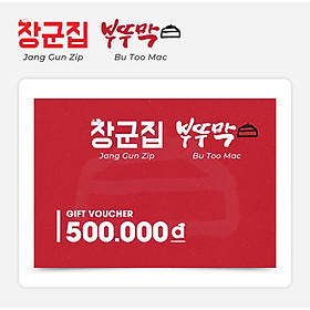 Jang Gun Zip/ Bu Too Mac - Phiếu Quà Tặng 500k