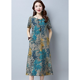 Đầm suông trung niên có túi, đầm nữ Haint Boutique 145
