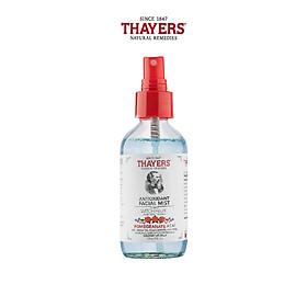 Nước hoa hồng không cồn Thayers cao cấp giúp ngừa lão hóa da - Hương hạt lựu và açaí 118ml