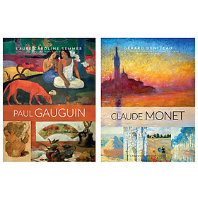 Combo Sách Về Hai Danh Họa Vĩ Đại : Claude Monet + Paul Gauguin