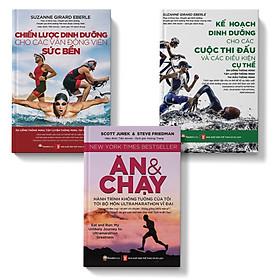 Sách-combo 3 cuốn chiến lược dinh dưỡng-kế hoạch dinh dưỡng-ăn và chạy