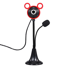 5MP 480P High-Definition Webcam 30fps Web Camera Noise-reduction Microphone HD Laptop Computer Camera USB Plug & Play