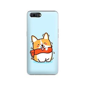 Ốp lưng dẻo cho điện thoại Realme C1 - 01184 7869 DOG01 - Hàng Chính Hãng