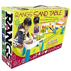 BỘ BÀN & KHUÔN CHƠI CÁT ĐỘNG LỰC KINETIC SAND - RANGS JAPAN