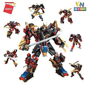 Đồ chơi xếp hình, lắp ráp lego Qman 3105 – Người băng sao hỏa (908 mảnh ghép)