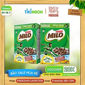 [Chỉ giao HN] Combo 2 Hộp Ngũ cốc ăn sáng MILO (Hộp 170g)