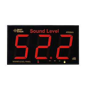SMART SENSOR AR884A Sound Level Meter with Large LCD Screen Wall Mounted Digital Sound Level Meter Digital Noisemeter