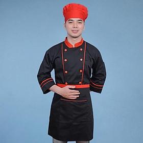 Đồng Phục Bếp Nam Nữ Áo và Tạp Dề - 006