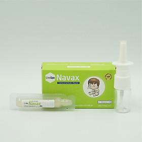 Lợi khuẩn Navax vệ sinh và ngừa viêm tai, mũi, họng bảo vệ và phục hồi niêm mạc mũi của trẻ
