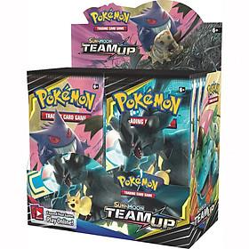 Bộ Thẻ Bài Pokemon 324 Thẻ Trading Card Game Sun&Moon Team Up TCG Sưu Tập Đẹp Đọc Đáo