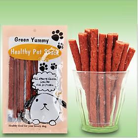 Bánh thưởng cho chó mèo Green Yummy, gói 100g