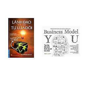 Combo 2 cuốn sách: Lãnh Đạo Và Sự Tự Lừa Dối + Tạo Lập Mô Hình Kinh Doanh - Cá Nhân