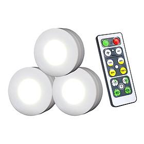 Đèn LED Không Dây Có Điều Khiển Từ Xa (3 Cái)