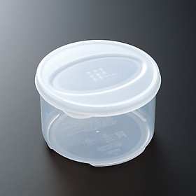Bộ 3 hũ nhựa đựng thực phẩm nắp tròn cao cấp - Hàng nội địa Nhật