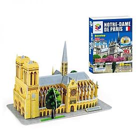 Mô Hình Giấy 3D Magic Puzzle: Nhà Thờ Đức Bà Paris G168-4