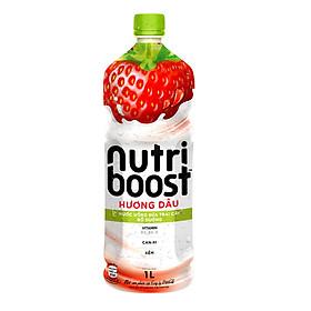 Nước trái cây Nutri vị dâu sữa 1L - 10758