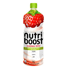 Big C - Nước trái cây Nutri vị dâu sữa 1L - 10758