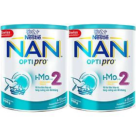 Combo 2 Lon Sữa Bột Nestlé NAN OPTIPRO 2 HM-O 900g Với Công Thức Từ Thụy Sĩ